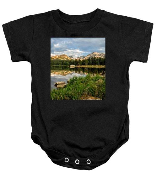 Brainard Lake Reflections Baby Onesie