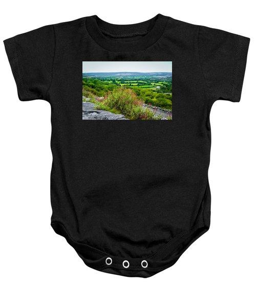 Burren National Park's Lovely Vistas Baby Onesie
