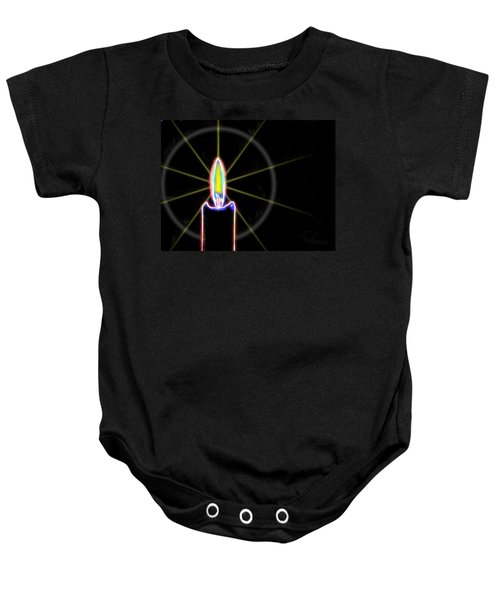 Candle Baby Onesie