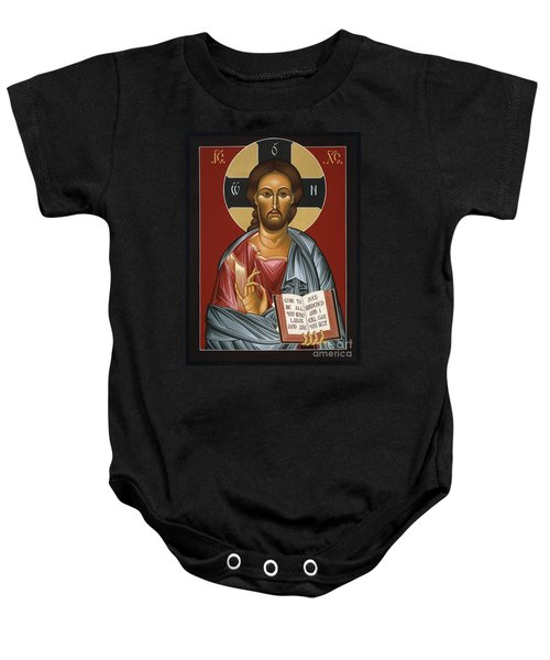 Christ All Merciful 022 Baby Onesie