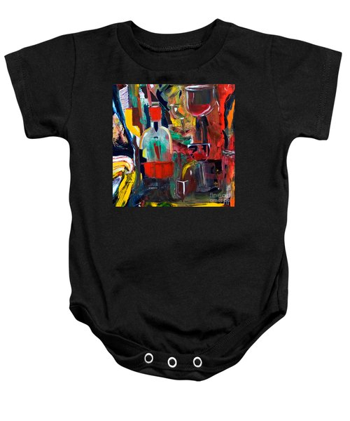 Cut IIi Wine Woman And Music Baby Onesie