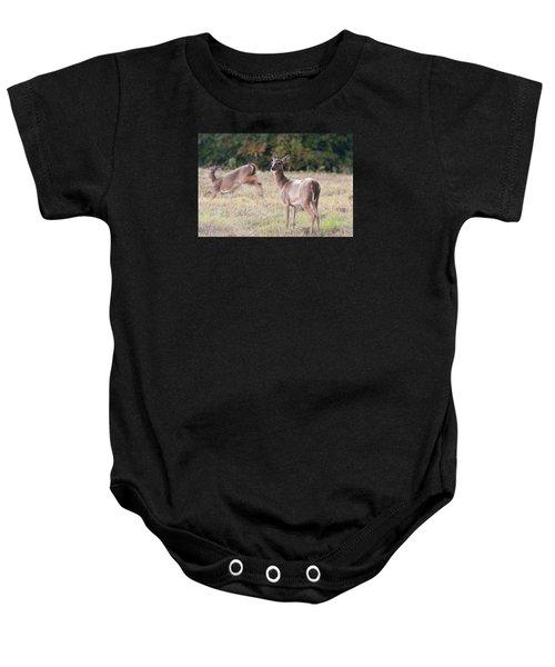 Deer At Paynes Prairie Baby Onesie