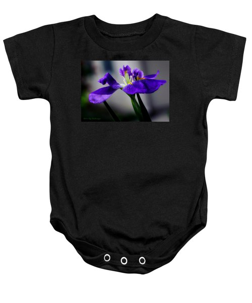 Elegant Iris Baby Onesie