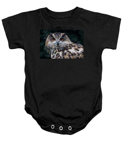 European Eagle Owl Baby Onesie