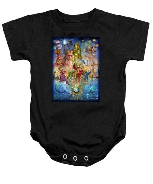 Fantasy Island Baby Onesie