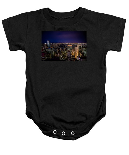 Field Of Lights And Magic Baby Onesie