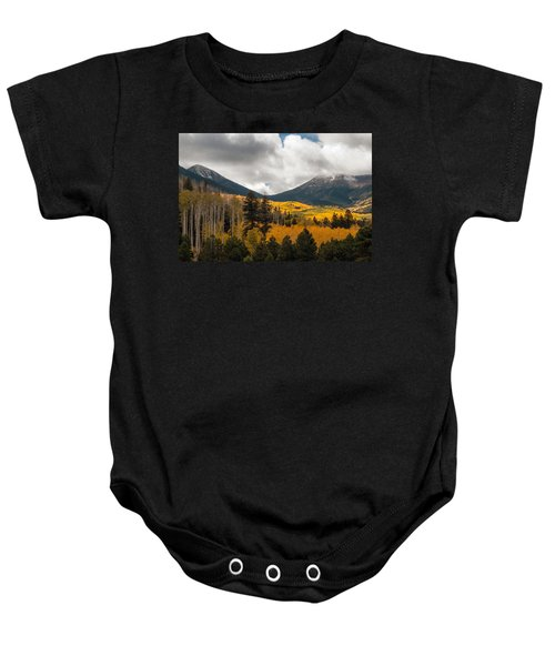 Flagstaff Fall Color Baby Onesie