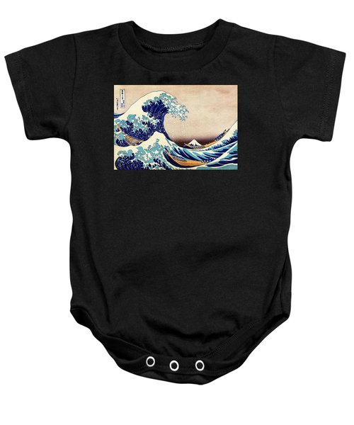 Great Wave Off Kanagawa Baby Onesie