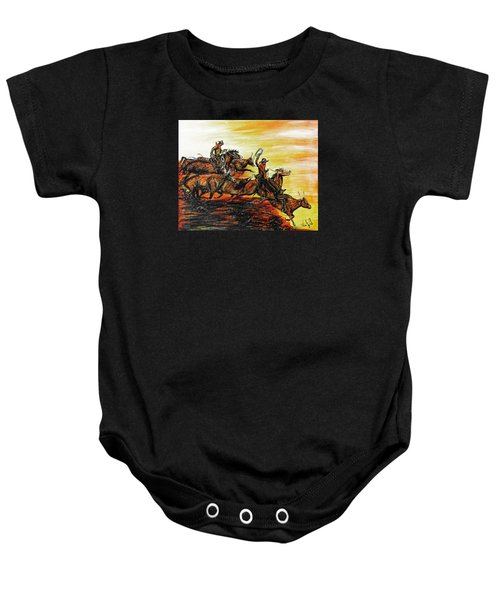 Hol-ly Cow Baby Onesie