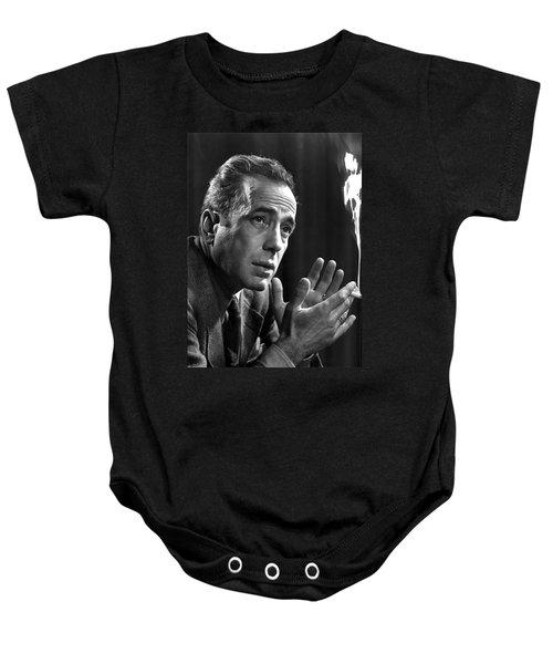Humphrey Bogart Portrait 2 Karsh Photo Circa 1954-2014 Baby Onesie