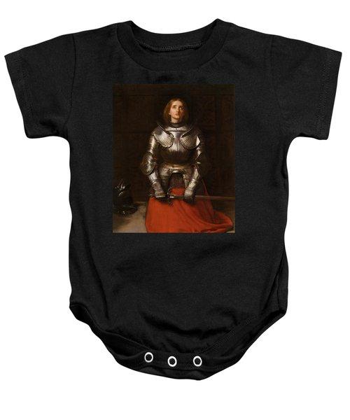 Joan Of Arc  Baby Onesie