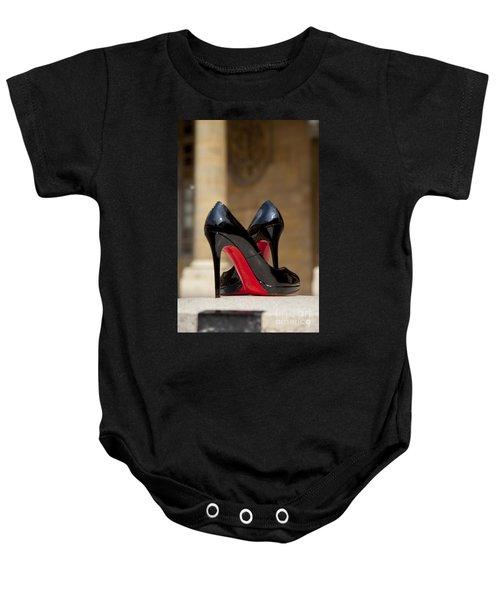 Louboutin Heels Baby Onesie