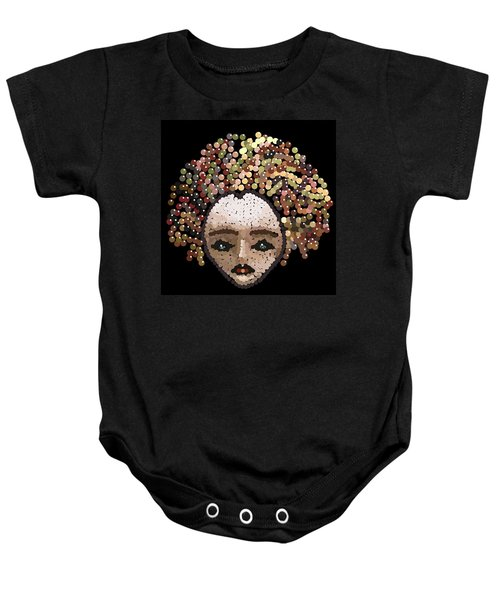Medusa Bedazzled After Baby Onesie