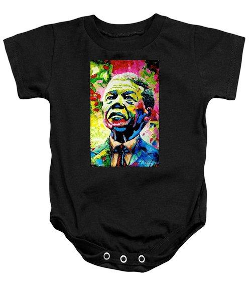 Nelson Mandela Baby Onesie