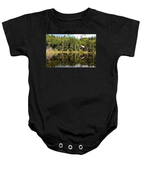 Pond Along The At Baby Onesie