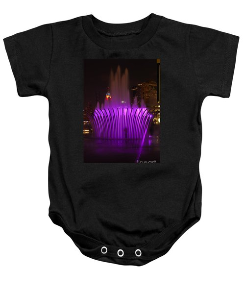 D101l-11 Scioto Mile Riverfront Park Photo Baby Onesie