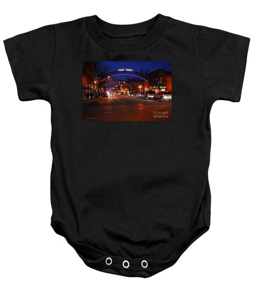 D8l353 Short North Arts District In Columbus Ohio Photo Baby Onesie