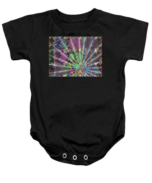 Sparkle Focus Graphic Chakra Mandala By Navinjoshi At Fineartamerica.com Fineart Posters N Pod Gifts Baby Onesie by Navin Joshi