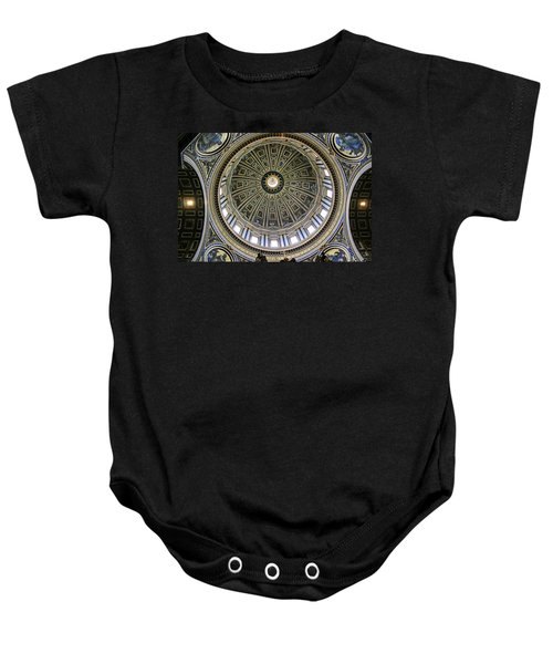 St. Peter's Basilica Dome Baby Onesie