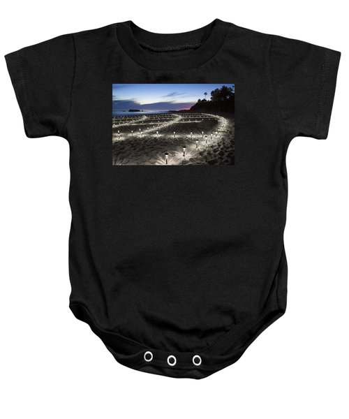 Stars On The Sand Baby Onesie