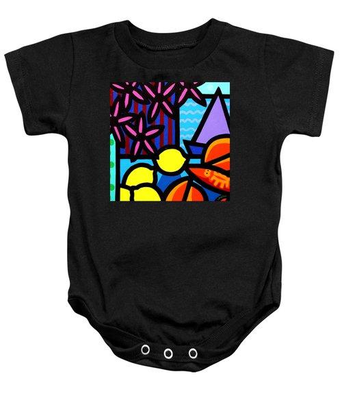 Still Life At Window IIi Baby Onesie