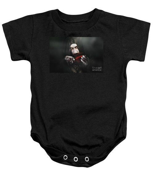 Tales From A Vampires Crypt Baby Onesie