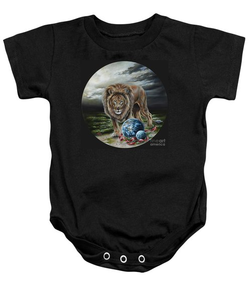 The Art Of War Baby Onesie