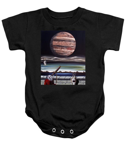 The Eternal Staring Contest Baby Onesie