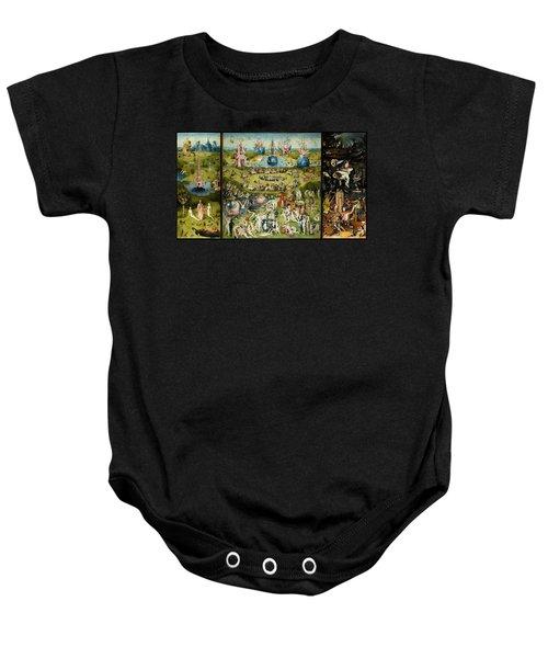 The Garden Of Earthly Delights Baby Onesie