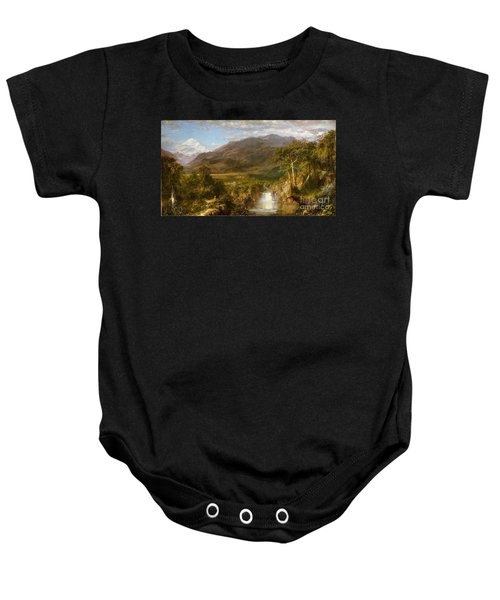 The Heart Of The Andes Baby Onesie