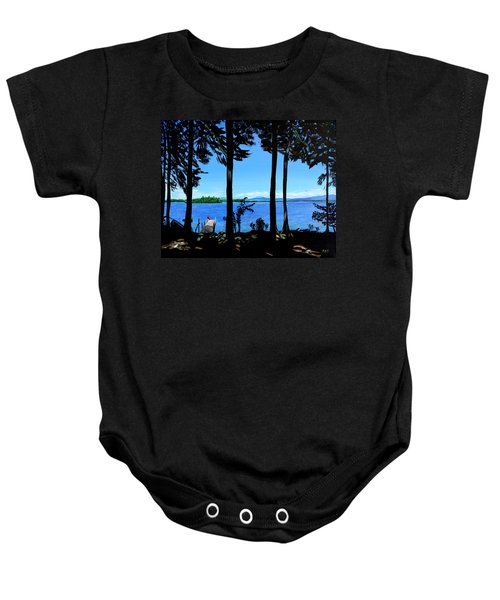 The Lake Baby Onesie