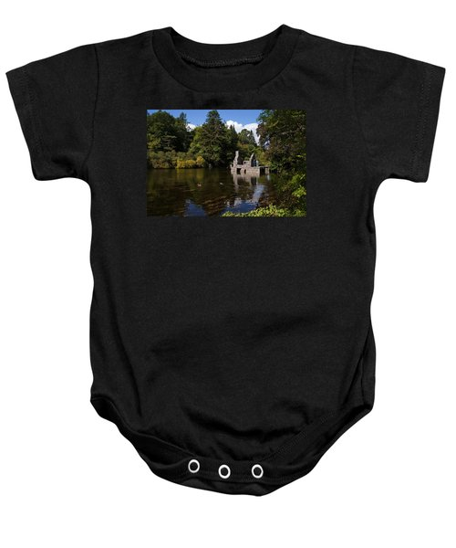 The Monks Fishing House, Part Of Cong Baby Onesie
