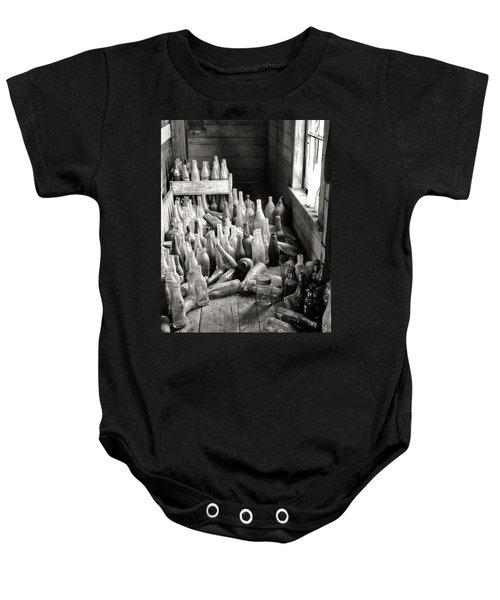 Time In A Bottle Baby Onesie