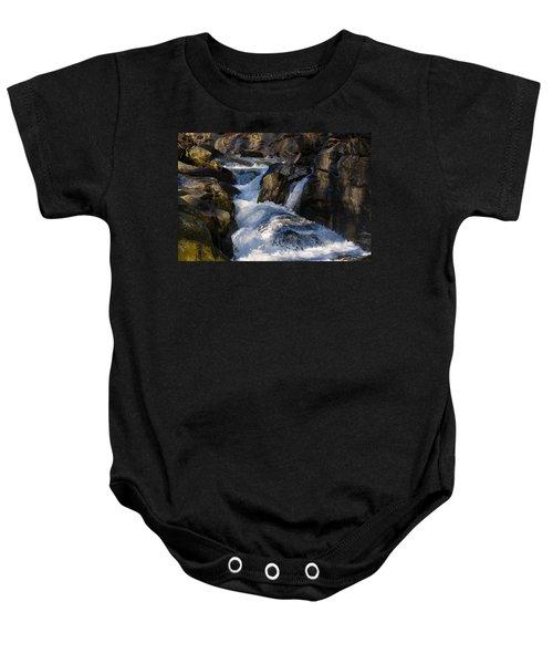 unnamed NC waterfall Baby Onesie