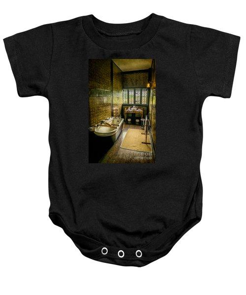 Victorian Wash Room Baby Onesie