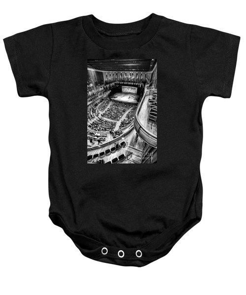 View From The Upper Balcony At Strathmore Music Center Baby Onesie