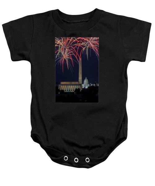 Washington Dc Fourth 3 Baby Onesie
