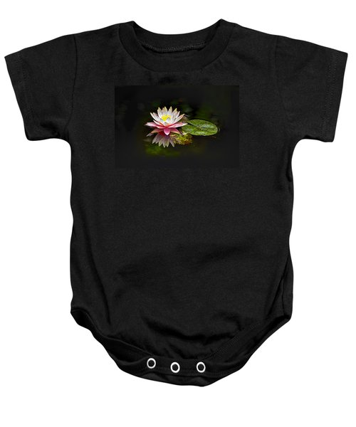 Baby Onesie featuring the photograph Water Lily by Bill Barber