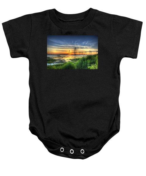 Lowcountry Sunset Baby Onesie