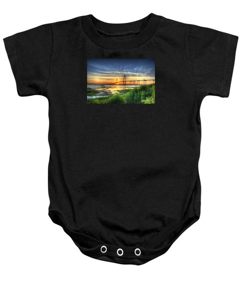 Lowcountry Sunset Baby Onesie