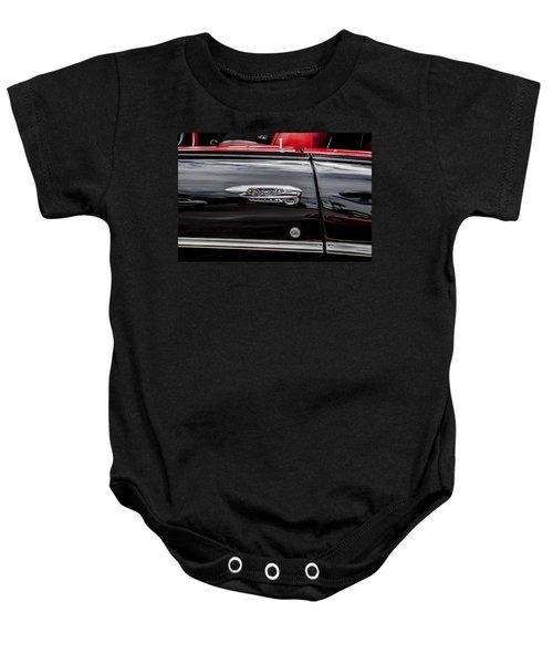 1957 Chevrolet Bel Air Baby Onesie