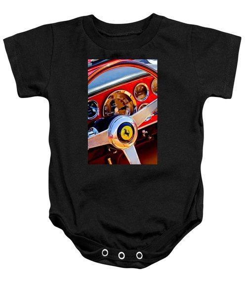 1960 Ferrari 250 Gt Cabriolet Pininfarina Series II Steering Wheel Emblem -1319c Baby Onesie