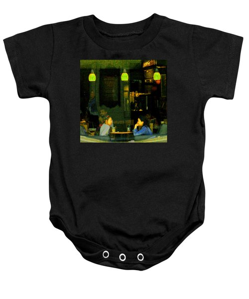 Coffee Talk Baby Onesie
