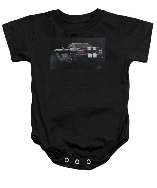 Dodge Viper 1 Baby Onesie