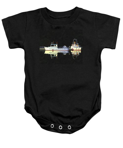 Last Light  Island Moorage Baby Onesie