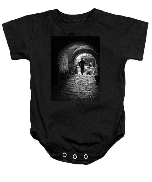 Man In An Archway / Hammamet Baby Onesie