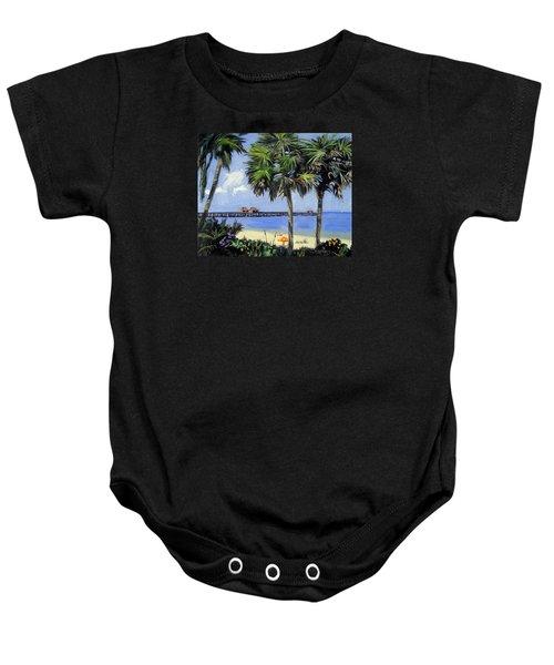 Naples Pier Naples Florida Baby Onesie