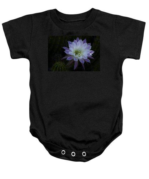 Night Blooming Cactus  Baby Onesie