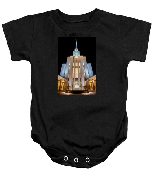 Oquirrh Mountain Temple 1 Baby Onesie