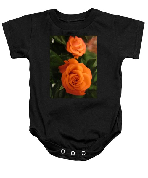 Orange Delight Baby Onesie